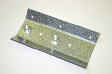 Zinc Coated Leg Mounting Plate with Pem Nuts to Suit Williams/Bally