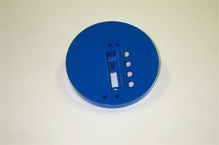 Bookcase Base-Blue