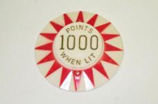 Cap Red Sunburst 1000 Points When Lit