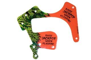 Indiana Jones Playfield Plastic- Raise Jackpot