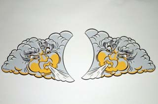 Whirlwind Topper Decal Set - Left and Right Decal