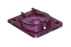 Eject Shield Top - Transparent Violet
