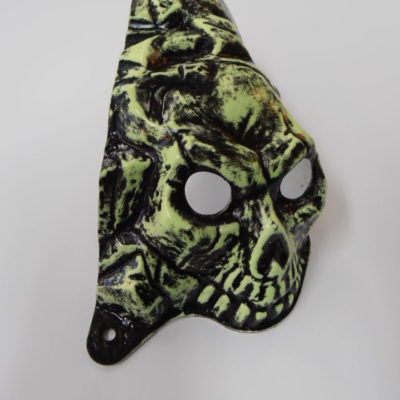 Elvira Skull Painted