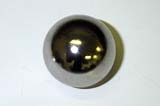 "Highly polished 1 1/16"" dia. chrome steel balls"