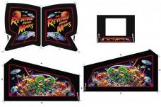 Revenge From Mars Cabinet Art Set