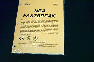 Manual NBA Fastbreak – New