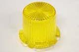 Dome Mini/Twist Lock Transparent - Yellow