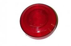 Bumper Cap Transparent Red
