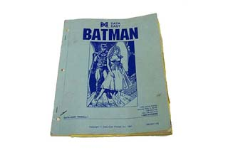 Batman Manual - Used