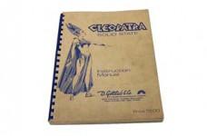 Cleopatra Manual - Used