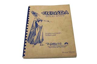 Cleopatra Manual - Used