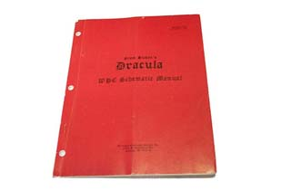 Dracula - WPC Schematic Manual - Used