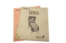 Disco Fever Manual - Used