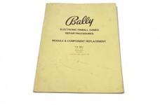Bally Repair Procedures Manual - FO-560-1 - Used
