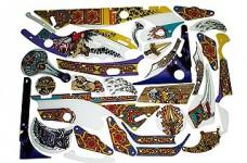 Arabian Nights Plastics Set