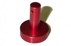 Red Metal Flipper Button