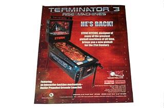 Flyer For Terminator 3