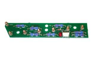 7 LED Trough PCB Assy