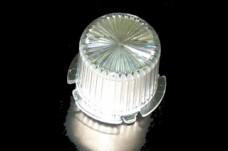 Dome twist lock- clear