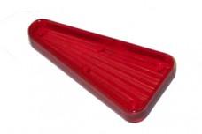 """Playfield Insert: Arrow-tri 2"""" starburst red"""