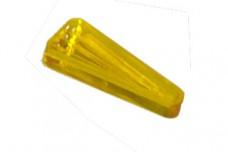 "Playfield insert-Arrow-Tri 1.5""-medieval starburst yellow"