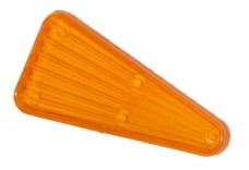 "Playfield Insert: Arrow 2"" transparent orange"