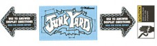 Junk Yard Apron Decal Set