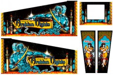 Tales Of The Arabian Nights Cabinet Art