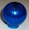 Globe Light Cover - Transparent Blue