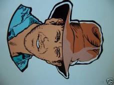Indiana Jones Die Cut Repair Decal