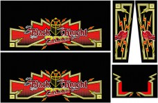 Black Knight 2000 Cabinet Art Set