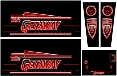 Getaway Cabinet Art Set - Next Generation Technology Printed Product