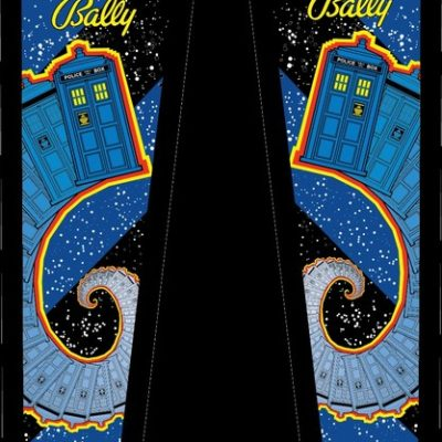 Doctor Who Head Decal Set