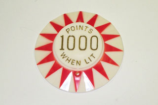 Cap Red Sunburst 1000 Points When Lit