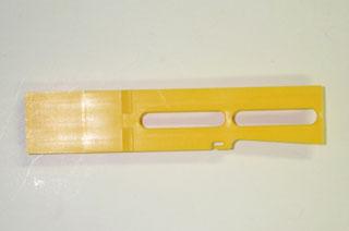 Flush target yellow