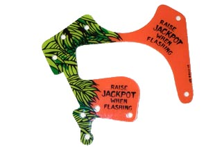 Indiana Jones Playfield Plastic- Raise Jackpot