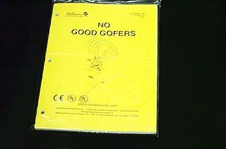 Manual No Good Gofers - New