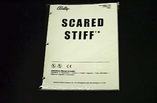 Manual Scared Stiff - New