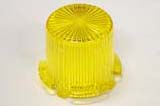 Dome Mini/Twist Lock Transparent - Yellow