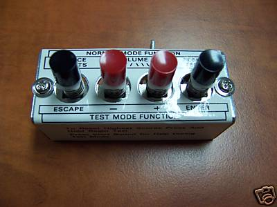Diagnostic Switch - 4 Bank