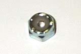 6-32 Nylon Insert Locknut - Regular Pattern
