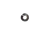 #2 Lockwasher Medium Split - Steel & Zinc
