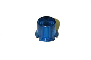Dome - Mini Twist Lock - Transparent Blue