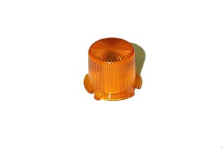Dome - Mini Twist Lock - Transparent Orange