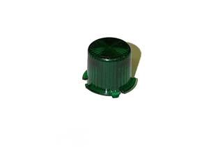 Dome - Mini Twist Lock - Transparent Green
