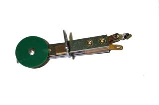 Stationary Target - Front Mounting - Round - Green