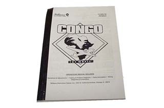 Congo Manual - Used