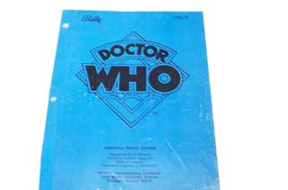 Dr. Who Manual - Used