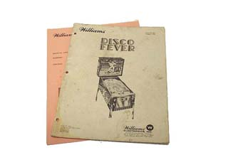 Disco Fever Manual - Used