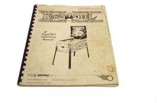 Kings of Steel Manual - Used